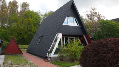 Private cottage in the Baltic Sea spa in proximity to the beach