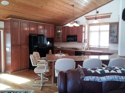 "Breezy Point house rental - Kitchen at ""Eagle 7"""