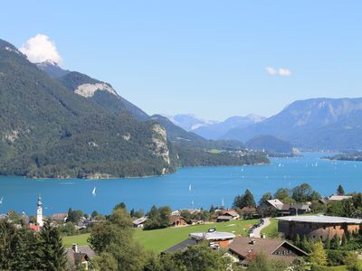 Well-kept private apartment in St. Gilgen with stunning views of Lake Wolfgang