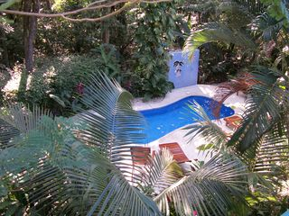 Nosara house photo - Just steps from the Nosara Paradise Rentals campus pool. Swim in the jungle!