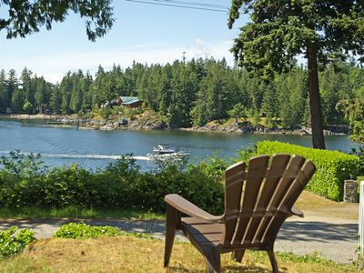 Shore cottage view, bargain bay, madeira park, pender habour, sunshine coast bc