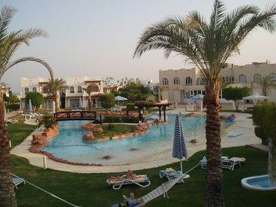 2 Villa apartments on the Hilton dreams worldwide resort naama bay