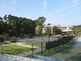 Sea Pines condo photo - Tennis Round Robins and Drills are at the nearby Sea Pines Racquet club