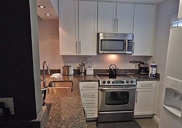 New gourmet kitchen-stainless appliances, granite counters, great new cabinets!