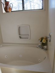 Glen Arbor condo photo - Whirlpool bath & shower