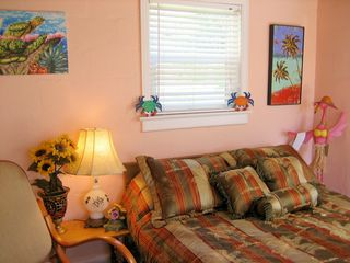 New Smyrna Beach house photo - Beachy Bedroom .