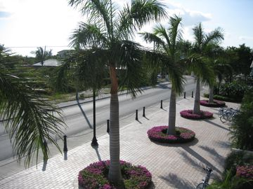 View of Grace Bay Road from condo