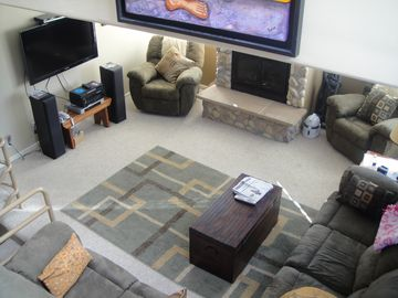 Park City condo rental - Light and airy yet cozy and comfortable.