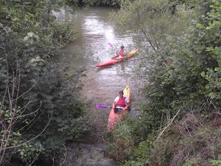 Hire a canoe or kayak to go down the river.....