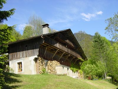 Charming old farmhouse beautifully renovated, with astonishing view