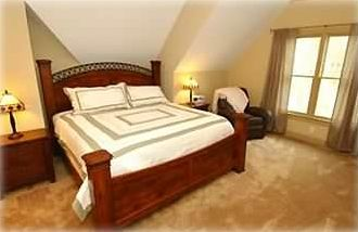 All three king bedrooms have luxury linens and down comforters
