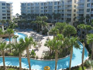 Fort Walton Beach condo photo - Watch you friends float by from the balcony
