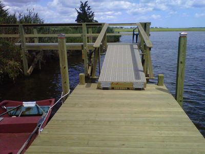 Waterfront Home with recreational dock! Great Views! Close To Beaches!