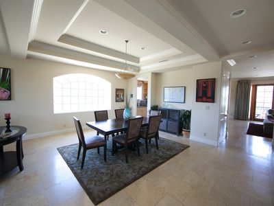 Marina del Rey house rental - Dining Room