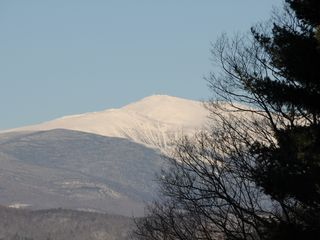 North Conway house photo - Mount Washington from Master Bedroom