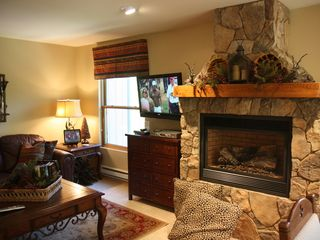 Breckenridge condo photo - Gas Fireplace