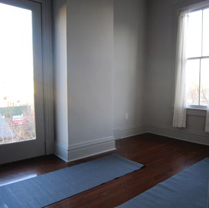 Hudson house rental - Yoga area