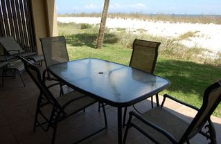 Perdido Key condo photo - Wonderful Gulf Front Porch offers direct beach access!