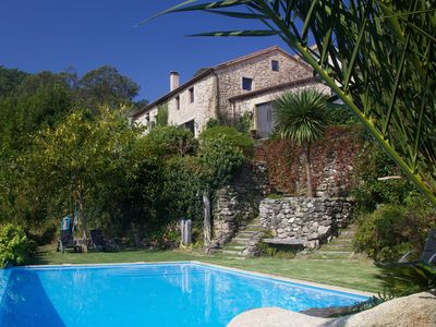 Grand Galician Villa with private pool.