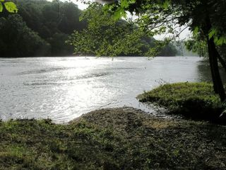 French Broad River from Riverside Escapes' Private Island