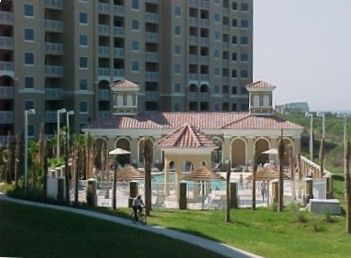 Surf Club Gazebo poolside Has gas grill,sink, seating & fountains for kids play