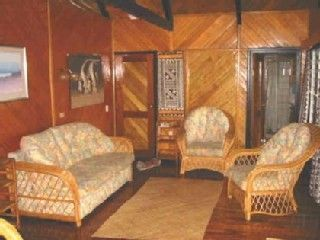 Taveuni house photo - Living room