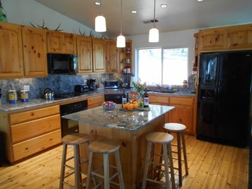 Mariposa house rental - Big Kitchen with just about everything you can think of.