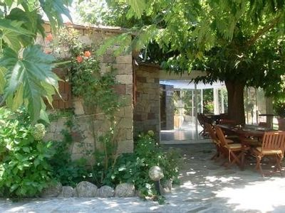 Accommodation near the beach, 160 square meters, with garden