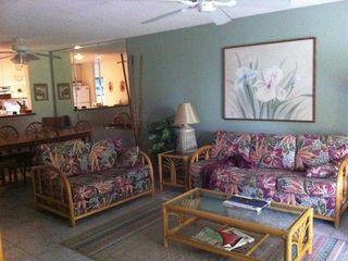 Keauhou condo photo - Living room.