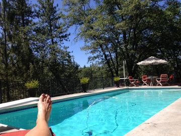 Lake of the Pines apartment rental - Our Pool in the Pines Clear Blue Skies Here!