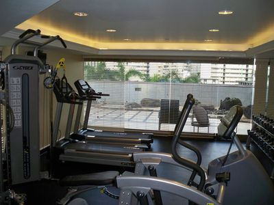 Waikiki condo rental - Free Fitness Center for the Use of Guests of Owners Condos on 5 Private Floors!!