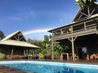 3 Br Oceanview Home W Pool Near Kehena In 11 Acres Of Tropical Gardens 3 Br Vacation House