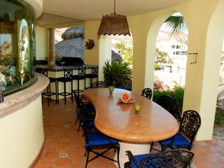 Los Cabos villa photo - Outdoor dining and bar