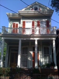 New Orleans' architectural charm of a 1880s home of a previous Senator