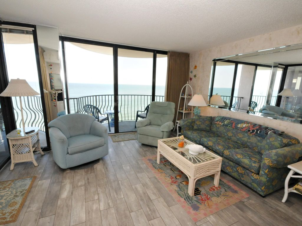 beach house interiors myrtle beach 3 bedroom oceanfront condo 24 pic see homeaway 11926