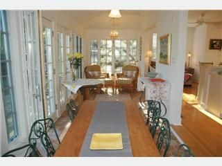 Dine at Antique French Farm Table - St. Michaels cottage vacation rental photo