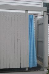 Old Lyme cottage photo - Hot/Cold outdoor shower
