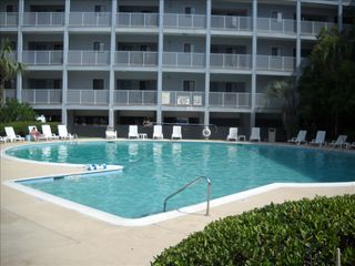 Folly Field condo photo - Outside Pool Located Next to the on-Site Deli