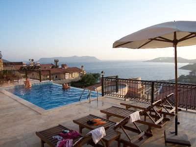 image for Lux. apartment, pool, panoramic view, tranquillity, 500 m to downtown Kas, beach