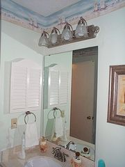One of Two full bathrooms; Marble Sink - Myrtle Beach Resort condo vacation rental photo