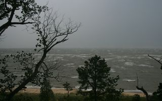 Deltaville cottage photo - Stormy Day at the Cottage