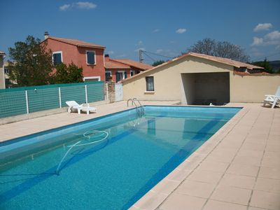 Cheap accommodation, with pool , Aigremont, France