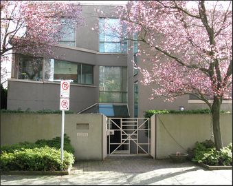 West Vancouver house rental - It is Spring! Here is a front exterior view.