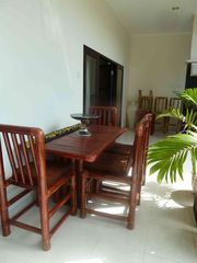 Seminyak villa photo - Beautiful bamboo dining suite