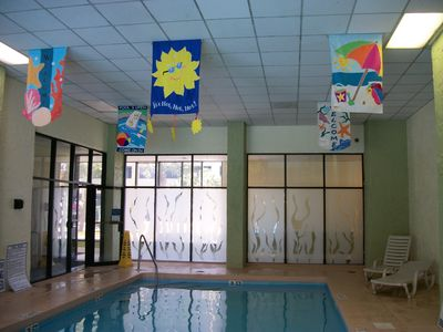 Indoor Outdoor Heated Pool Main Building