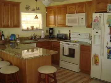 Kitchen...Newly renovated with many upgrades.