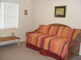 Tybee Island house photo - Twin bed off of master bedroom upstairs