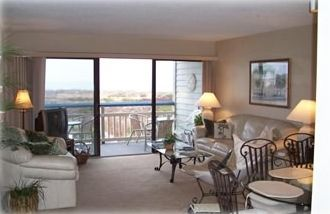 Relax and enjoy the direct ocean view from the living room or balcony