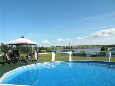 Luxurious Riverfront Cottage Rental - Salt Water Pool