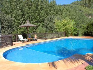 Genalguacil villa photo - 6x12 m swimming pool, with non chlorine spring water, treated with salt